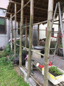 戶外廚房竹造物維護