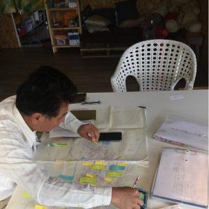 家族姓氏分佈-部落姓氏分佈圖繪製