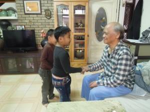 訪視關懷老人