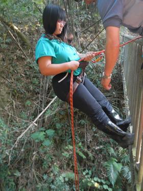 野外活動-垂降活動體驗