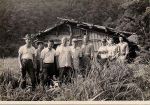 民國50年代的新化林場老照片